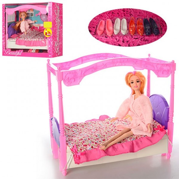 Мебель для спальни с куклой Beautiful