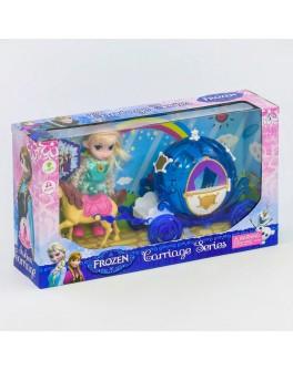 Ігровий набір Карета з лялькою Холодне серце, світло, звук (DN 843 FZ-1)
