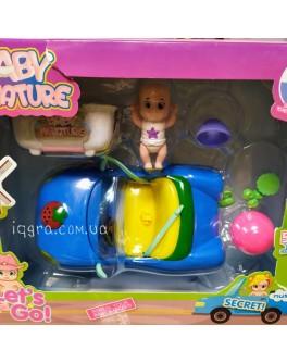Іграшка Пупс-сюрприз змінює колір з машинкою (LM2519)