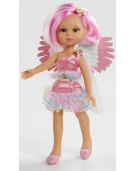 Кукла Ангел розовый с прической каре, 32 см (04697) Paola Reina - kklab 04697