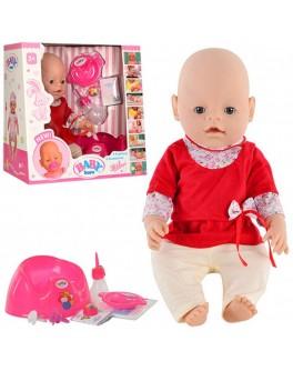 КУКЛА BABY BORN в платье и ползунках 8001-5