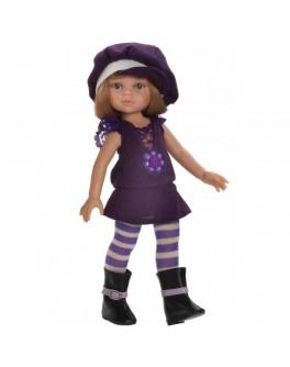 Кукла Карла в фиолетовом 32 см (04585) Paola Reina - kklab 04585