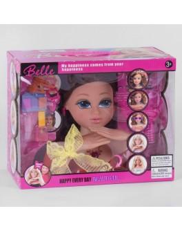 Лялька манекен Belle для зачісок та макіяжу (8869-1)