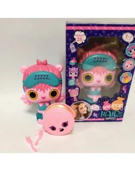 Лялька-сюрприз гребінець для дівчаток, шкатулка для шпильок (Р 1101)