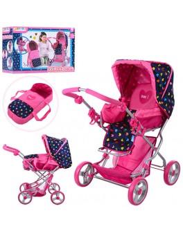 Розовая коляска для кукол Hauck (D-86631) - mpl D-86631