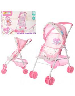 Прогулочная коляска розовая Hauck (D-83123) - mpl D-83123