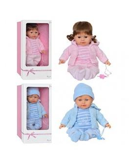 Кукла ручной работы, 2 вида (мальчик / девочка), ARIAS Испания - Arias 65085