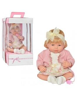 """Кукла мягкотелая, смех, бренд """"ARIAS"""" Испания - Arias 65088"""