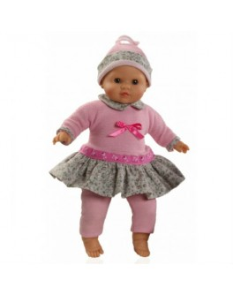 Кукла мягконабивная Карина (37014) 36 см без коробки Paola Reina - kklab 07014