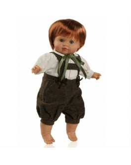 Кукла мягконабивная Питер (37507) 36 см без коробки Paola Reina - kklab 37507