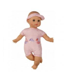Кукла для купания в розовом с уточкой (37152) 32 см без коробки Paola Reina - kklab 37152