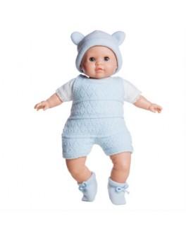 Кукла мягконабивная Юлиус в голубом (07004) 36 см Paola Reina - kklab 07004