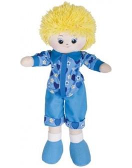 Мягкая кукла-мальчик Gulliver в рубашке 35 см (30-11BAC3501) - SGR 30-11BAC3501