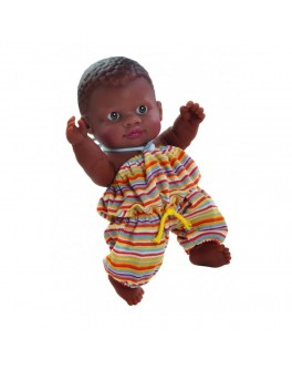Кукла-пупс Младенец мулат Paola Reina (01101) 22 см  - kklab 01101