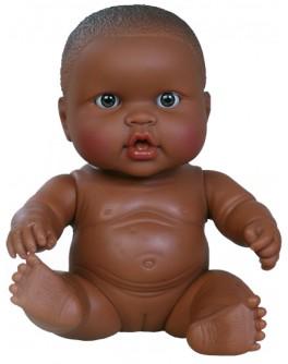 Кукла-пупс Младенец девочка-мулатка без одежды Paola Reina (31019) 22 см Паола Рейна - kklab 01019