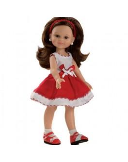 Кукла Клео в красно-белом платье Paola Reina (04640) подружки-модницы 32 см Паола Рейна - kklab 04640