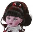 Кукла Монстрик красный, 32 см (04690) Paola Reina - kklab 04690