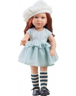Кукла Paola Reina Бекки в бирюзовом 40 см (06014) - kklab 06014