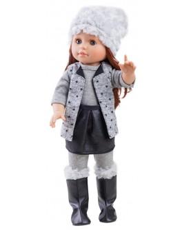 Кукла Paola Reina Бекки в сером 40 см (06015) - kklab 06015