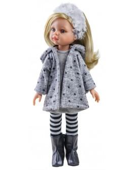 Кукла Paola Reina Клаудия в сером 32 см (04410) - kklab 04410