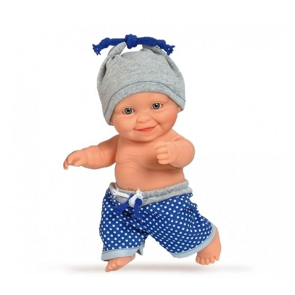 Кукла-пупс европеец в голубом, 22 см (01208) Paola Reina - kklab 01208