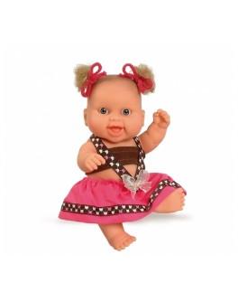 Кукла-пупс европейка в розовом, 22 см (01207) Paola Reina - kklab 01207
