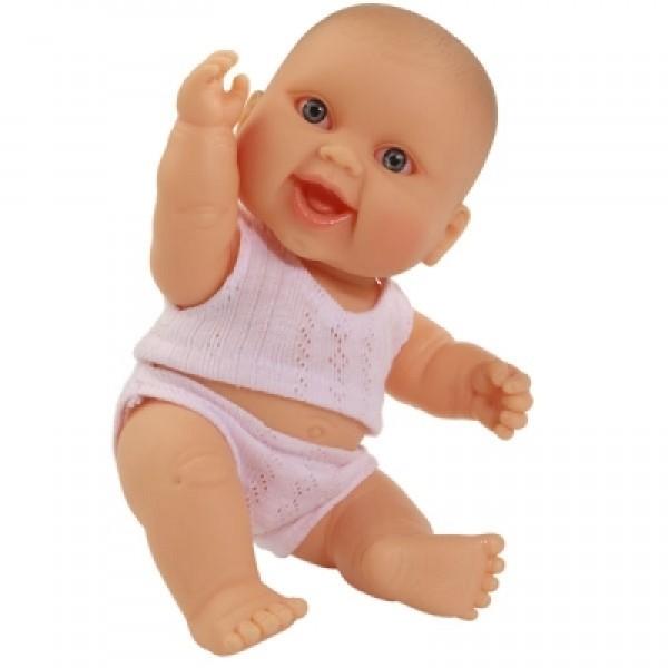 фото Кукла-пупс Младенец девочка европейка в трусах и майке Paola Reina 22 см - Kklab 01013