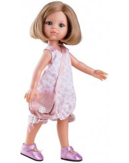 Кукла Paola Reina Карла в розовом с сумочкой 32 см (04405) - kklab 04405