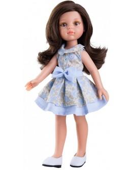 Кукла Paola Reina Кэрол в голубом 32 см (04407) - kklab 04407