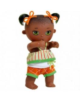 Кукла-пупс Малышка мулатка, сосущая палец Paola Reina (11461) 22 см