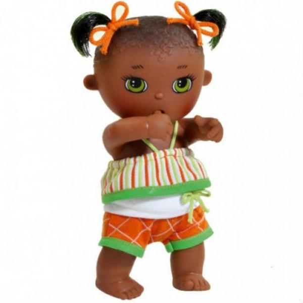 фото Кукла-пупс Малышка мулатка, сосущая палец Paola Reina (11461) 22 см - kklab 11461