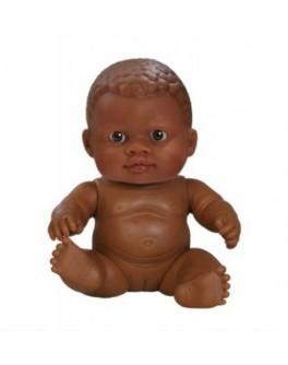 Кукла-пупс Младенец девочка-мулатка без одежды Paola Reina (31018) 22 см Паола Рейна