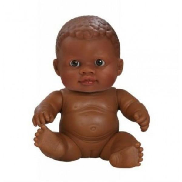 кукла-пупс девочка-мулатка без одежды Paola Reina