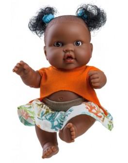 Кукла-пупс Paola Reina девочка мулатка Эбе 22 см (00117) - kklab 00117