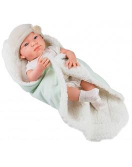 Кукла-пупс Paola Reina мальчик новорожденный в конверте 36 см (5018)