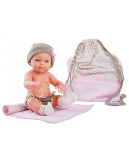 Кукла-пупс Paola Reina Роза с рюкзаком и одеяльцем 32 см (5104)