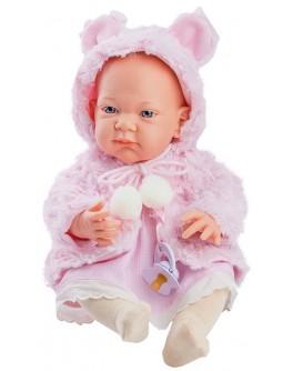 Кукла-пупс Paola Reina Роза в розовом 36 см (5017)