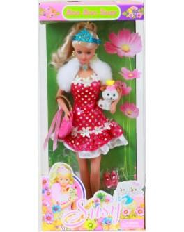 Кукла Susy с собачкой (2704) - ves 2704