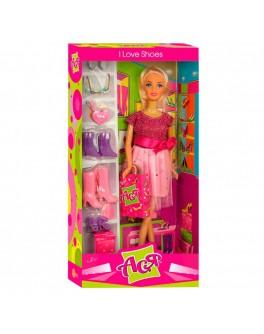 Кукла Ася с набором Любимая обувь 28см (35048) - ves 35048