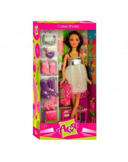 Кукла Ася с набором Любимая обувь 28см (35049) - ves 35049