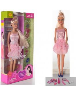 Кукла Defa Lucy с косметикой и аксессуарами (8066)