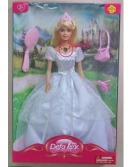 Музыкальная кукла Defa Lucy Принцесса в пышном платье (8239)