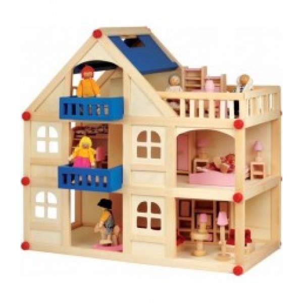 Д250 Ляльковий будинок 3 поверхи