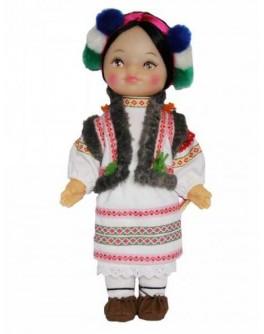 Кукла Гуцулка, 35 см - alb B225/2