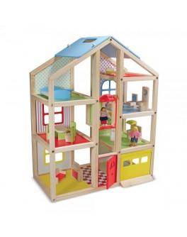 Кукольный домик с подъемником и мебелью Mellissa & Doug - MD 2462