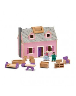 Кукольный домик Fold & Go Mini Dollhouse Mellissa & Doug - MD 13701