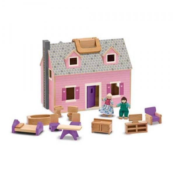 фото Кукольный домик Fold & Go Mini Dollhouse Mellissa & Doug - MD 13701