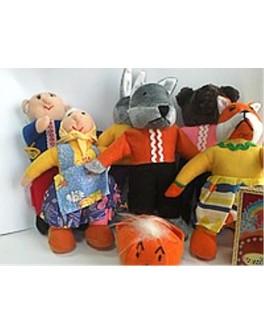 Кукольный театр топотушки Колобок - ALB В030