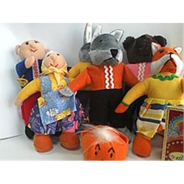 кукольный театр топотушки Колобок В030