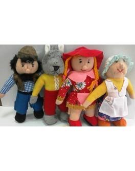 Кукольный театр топотушки Красная шапочка - ALB В032